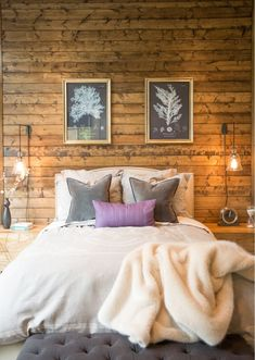 Rustic Contemporary Bedroom Design Ideas - Shop this look!  I love it when rustic meets contemporary!   #bedroom #bedroomideas #bedroomdesign #rustic #contemporary #rusticdecor #affiliate