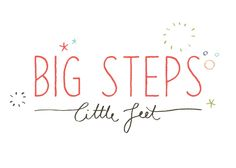 Logo for Big Steps Little Feet