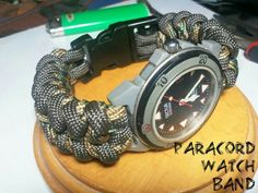 How to crate a Paracord Watch band