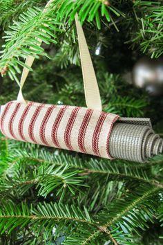Yoga Stocking Stuffer Boho Christmas Tree Ornament Yoga Ornament