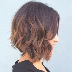 When the balayage was still on point.  @hairby.kara toned her pervious color and updated her client with a razor cut bob.  #rinsesalon