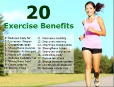 20 benefits of exercise that keeps yo healthy and wealthy