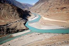 Indus valley river