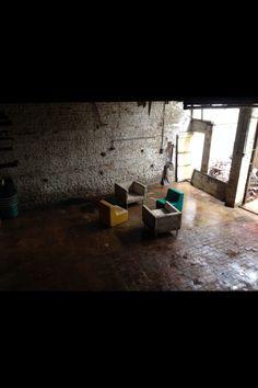Downstairs of workshop