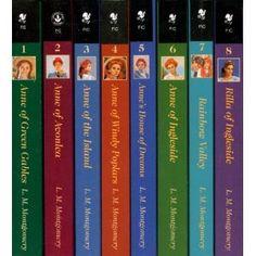 Anne of Green Gables: Anne of Green Gables, Anne of Avonlea, Anne of the Island, Anne of Windy Poplars, Anne's House of Dreams, Anne of Ingleside, Rainbow Valley, Rilla of Ingleside by L. M. Montgomery
