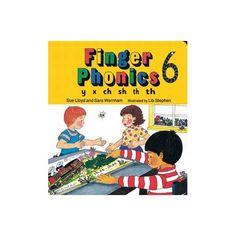 Finger Phonics 6 Jolly Phonics