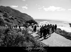 {Toni & Bari} Groom & his groomsmen mingle with guests as the bride makes her way to the aisle