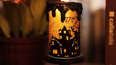 JT13007-B00XVEOOYK -Halloween Witch Tornado LED Lighting candle