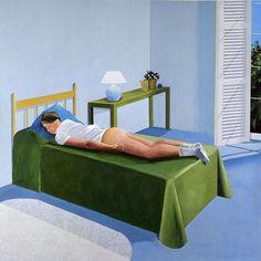 David Hockney The-room-tarzana-1967