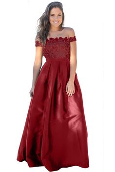Claret Crochet Top Pleated Waist Flared Maxi Evening Dress only US 44.16   ccb0ccf98af2