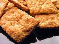 GF Cracker recipe - basic plus suggested additions and tips