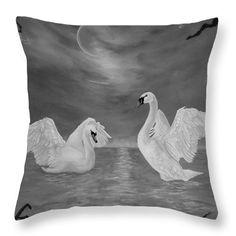 Nocturnal Dance Throw Pillow for Sale by Faye Anastasopoulou