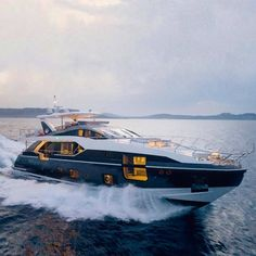 Making waves and Turing heads The new Azimut 27 Metri. Yacht Design, Boat Design, Power Boats, Speed Boats, Yachting Club, Yatch Boat, Azimut Yachts, Big Yachts, Yacht Builders