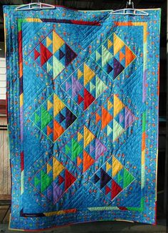 a Fish quilt   LOVE IT!    This is from a post on Quilting Board