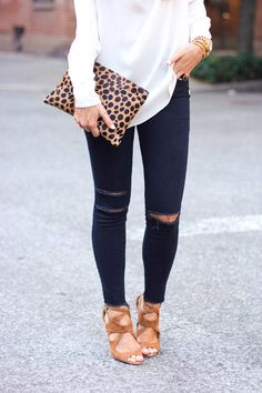 fall street style, animal prints, Camel Cutout Suede Ankle Strap Heeled Sandals #fall #style #fashion