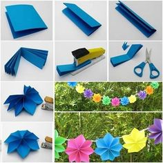 Flower decoration paper crafts diy 15 amazing diy party decorations for tissue paper tels diy party garland super easy diy party centerpieces that diy birthday decorations for royalWonderful Diy Paper. Paper Flower Garlands, Easy Paper Flowers, Giant Paper Flowers, Diy Flowers, Paper Party Decorations, Flower Decorations, Diy Party Banner, Party Banners, Papier Diy
