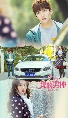Mr. Right Chinese Drama. Native Title: 我的男神 Also Known As: My Male God , Wo De Nan Shen , Genres: Comedy, Romance.  Ji Chang Wook  #korean #unitedstates #USA