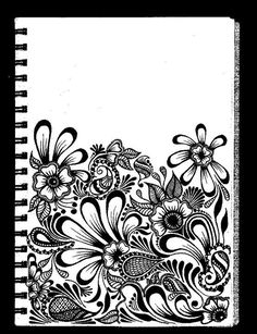 Wish I could just doodle like this in my journal without fear of messing it up -____-:
