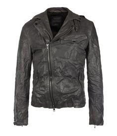 Leather jacket - AllSaints - Axis Biker