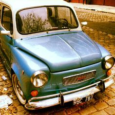 Enjoy stock photos that don't suck. Fiat 600, Photo Colour, Old Cars, Royalty Free Images, Around The Worlds, Colours, Stock Photos, Nice, Photography