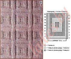 Rib Stitch Knitting, Knitting Paterns, Purl Stitch, Crochet Stitches Patterns, Loom Knitting, Baby Knitting, Stitch Patterns, Crochet Dishcloths, Knit Crochet