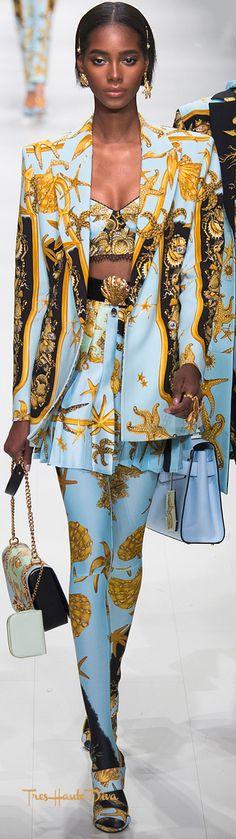 ~ Versace Spring 2018 RTW ~ | Tres Haute Diva | treshautediva.com