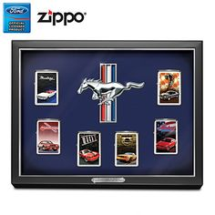 Generations Of Muscle Mustang Zippo Lighter Collection