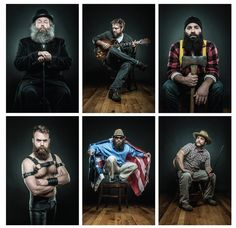 Of Beards and Men: A Portrait of Man is a photo book featuring portraiture of more than 130 bearded men from all walks of life. Photographer Joseph D.R. OLeary launched the project in early 2012 and is now raising funds on Kickstarter to self-publish the book.