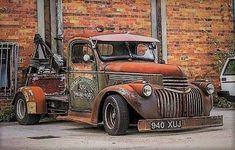 Rusty Rat Tow Truck