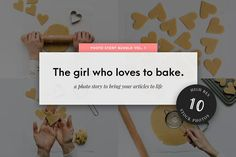 Food Stock Photo Bundle Baking Pack  by Stories by Scatter Jar on @creativemarket