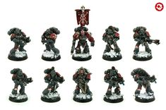 Space Wolves Grey Hunters Squad