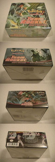 Pok mon Sealed Booster Packs 4301: Pokemon Ex Team Rocket Returns Factory Sealed Booster Box 36 Packs - Nice Box -> BUY IT NOW ONLY: $2295 on eBay!