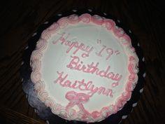 Katie 's bday cake