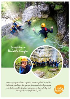Canyoning is the ultimate adrenalin adventure and it is not extreme or dangerous sport.