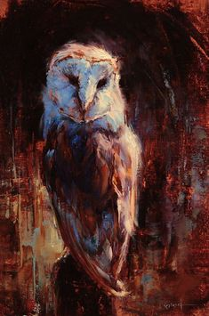 Beautiful Wild Birds Paintings by Lindsey Kustusch on Facebook at Studio Gallery source: elyseforlong
