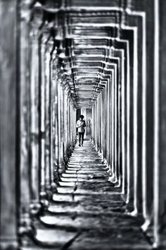 corridor / Black & White Photography: