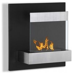 Melina Wall Mounted Ventless Ethanol Fireplace modern-fireplaces