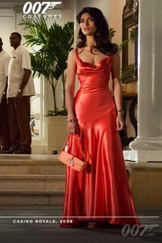 Inspired by caterina murino in movie casino royale celebrity dresses coral mermaid satin straps prom dresses evening formal gowns · mrtang · online store Casino Royale Dress, Casino Dress, Casino Outfit, Formal Evening Dresses, Formal Gowns, Soirée James Bond, Night Outfits, Dress Outfits, Hotel Sheraton