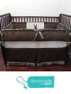 Nursery Bedding, Baby Crib Bedding Set Paxton, Boy Baby Bedding, Deer Crib Bedding, Woodlands Nursery Bedding - Choose Your Pieces from Just Baby Designs Inc https://www.amazon.com/dp/B01FSJB876/ref=hnd_sw_r_pi_awdo_tRtFybARQH568 #handmadeatamazon