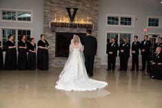 black and white wedding ; black tie Venue: The Sycamore Winery Photo Black Tie Wedding, Wedding Ties, Wedding Dresses, Winter Wonderland Wedding, Winter White, Black And White, Photography, Weddings, Fashion