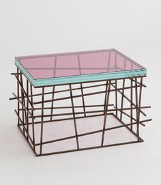 """Side and Coffee Tables Robert Bristow / Pilar Proffitt Side Table 24""""x 18""""x 17""""H"""