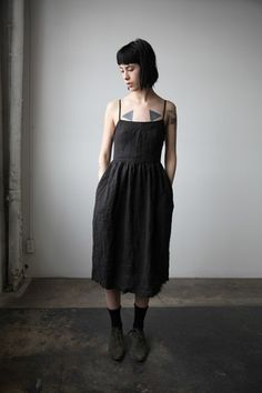 99aedff62f Dresses. Sunday DressBlack LinenCovenDress ...