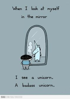 Haha! Just because I'm obsessed with mythical creatures!  Anything to do with unicorns or mermaids is probably getting repinned!