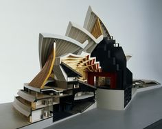 Architectural Model : Sydney Opera House Major Hall (1964 66) Made By  Finecraft