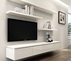 Ikea tv wall unit entertainment centers amazing home decor intended for architecture entertainment centers modern floating Floating Entertainment Unit, Floating Tv Shelf, Floating Tv Stand, Entertainment Centers, Ikea Tv Wall Unit, Wall Units, Ikea Tv Shelf, Ikea Wall, Shelf Wall