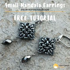 Dear handmakers, Todaywe gonna show you new Small MandalaEarrings free tutorial. It could be beaded fromCzech Glass SuperDuo Beads. Small Mandala Earrings actuallymaylook a bit complicated, but you will be surprised, how easy and fast you will reach the result. Download this tutorial and try it right now!   [...]