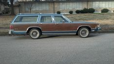 1986 Mercury Grand Marquis Colony Park wagon. Want to take this on trips and camp overnight at festivals and different places