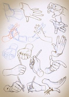 Hands Drawing Base, Manga Drawing, Figure Drawing, Drawing Sketches, Art Drawings, Drawing Practice, Drawing Skills, Drawing Lessons, Hand Drawing Reference