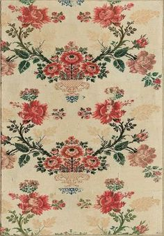 Probably French, Late 17th–early 18th century. Silk brocade.