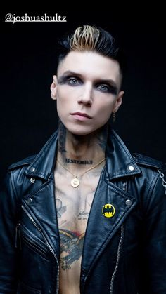 Black Viel Brides, Black Veil Brides Andy, Just Deal With It, Andy Black, Andy Biersack, Guys, People, Beautiful, Worship